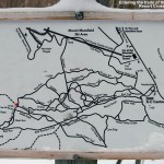 An image of the trail map for  the Stowe Mountain Resort Cross Country Ski Center