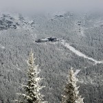 An image of the Cliff House on Mt. Mansfield in Stowe, Vermont