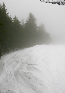 An image of the Alta Vista ski trail at Bolton Valley Resort in Vermont