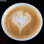 An image of a Maple Latte from The Beanery at Stowe Mountain Resort in Vermont