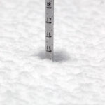 An image snowing the total snow depth on October 28th at an elevation of 2,500' at Bolton Valley Ski Resort in Vermont