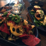 An image of some appetizers at Smoke Signals restaurant in Lake Placid, New York